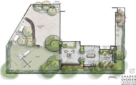 architectural layouts landscape plans renderings drawings landscaping