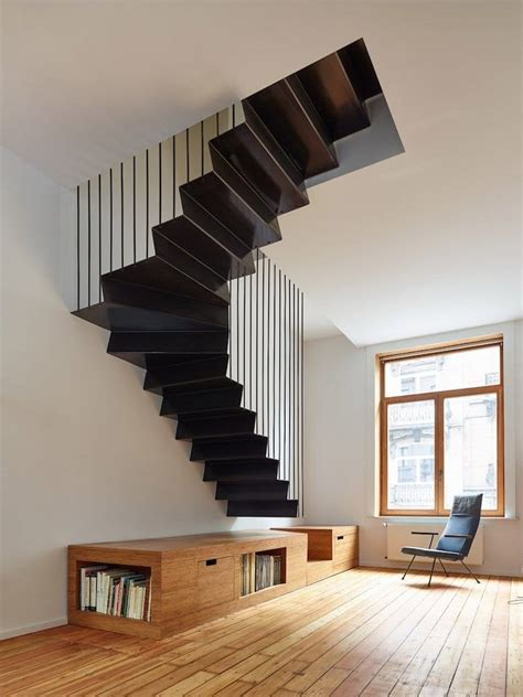 25+ Examples Of Modern Stair Design That Are A Step Above. Interior Design Styles. How Much Does It Cost To Renovate A Bathroom. Victorian Shed. Wooden World Map. Oblong Table. Stairway Decorating Ideas. Dax Sinks. Industrial Style Desk