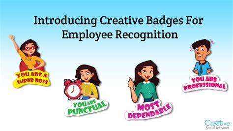 recognition badges rewards recognition portal