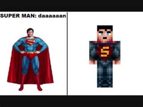 nombres  skins en minecraft parte  superheroes
