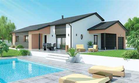 maison moderne plain pied 4 chambres maison plain pied 4 chambres avec mezzanine au fil de l 39 eau