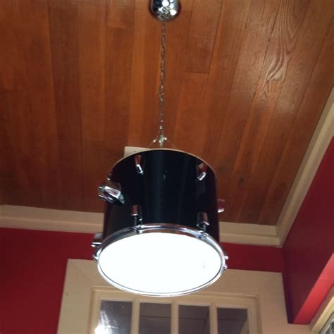 e s room snare drum light fixture drummer s lighting