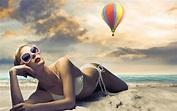 Wallpaper : 1920x1200 px, beaches, bikini, blondes ...