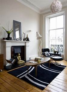 Room With Fireplace QuotLounge Chairquot Eames Interior Design