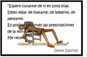 Lecciones para amar: Frase sobre el divorcio Jaime Sabines