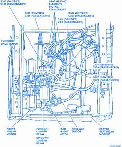 Cadilac Eldorado 1994 Electrical Circuit Wiring Diagram