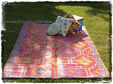 plastic outdoor rugs recycled plastic rugs conversations with my