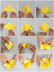 DIY Origami Kusudama Decoration