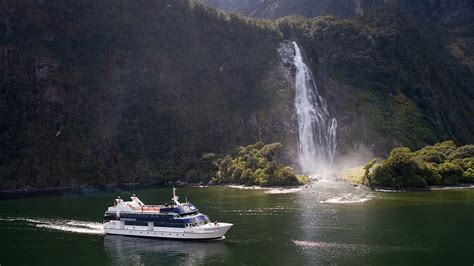 Milford Sound Scenic Cruises Real Journeys New Zealand