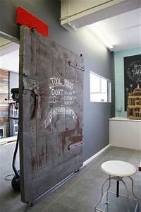 5 raisons d39adopter les portes coulissantes dans la maison With porte coulissante style industriel