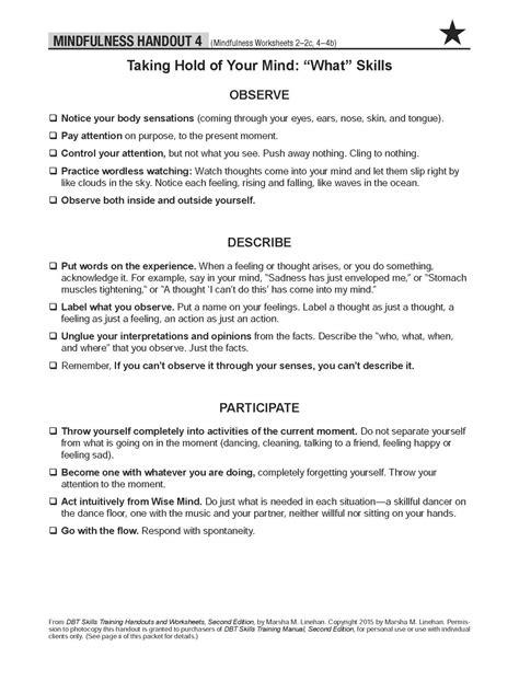 13 Best Images Of Dbt Mindfulness Worksheets  Mindfulness Dbt Skills Worksheet, Mindfulness Dbt