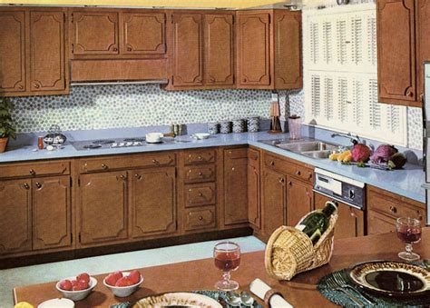 ideas for updating kitchen cabinets decorating a 1960s kitchen 21 photos with even more