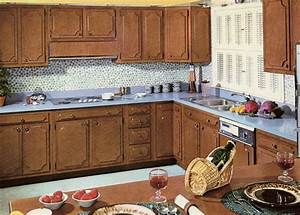 Decorating a 1960s kitchen - 21 photos with even more