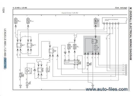 old car manuals online 2007 lexus ls user handbook lexus ls460 460l repair manuals download wiring diagram electronic parts catalog epc