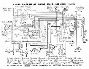 Honda Vtr250 Wiring Diagram