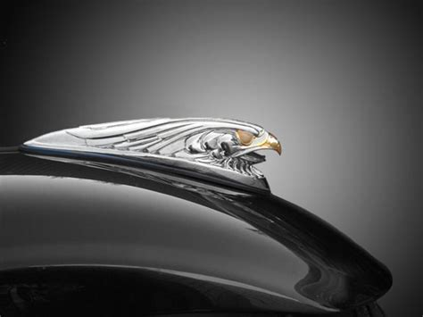 Eagle Head Motorcycle Front Fender Ornament