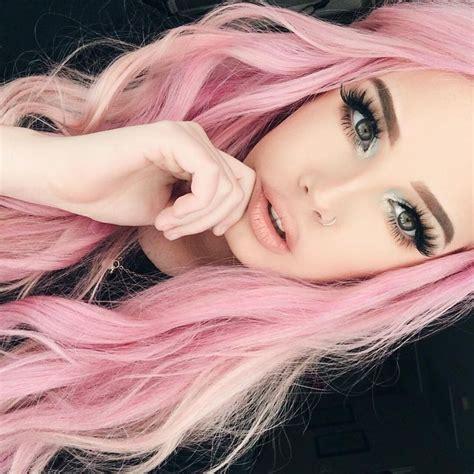 Best 25 Pastel Pink Hair Ideas On Pinterest