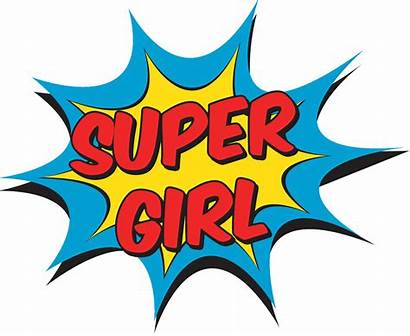 Superhero Wonder Clipart Woman Numbers Mujer Signs