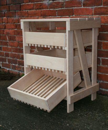 Kitchen Veg Drawers by Beech Vegetable Rack 3 Drawer Craft Ideas