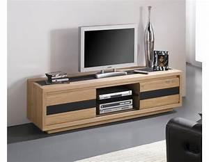Attrayant Accessoire Chambre Ado 11 Meuble Tv Bas Bois