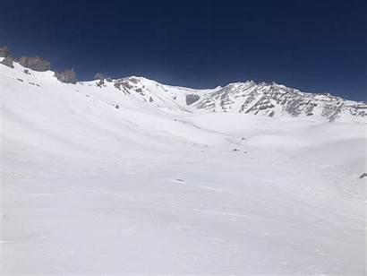 Shasta Mount Location Southside Avalanche