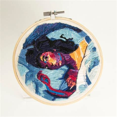 lordes melodrama cover   hoop redditrembroidery