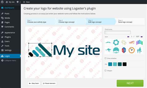 logaster logo generator wordpress plugins
