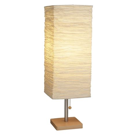 paper shade table l modern table l with beige cream paper shade in
