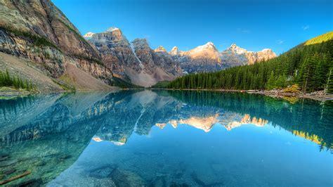 Fonds D'ecran 1920x1080 Canada Parc Montagnes Lac Forêts