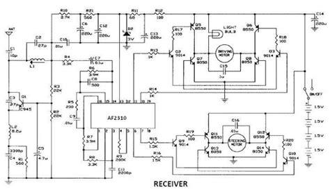 Radio Controlled Motor Circuit Design Project