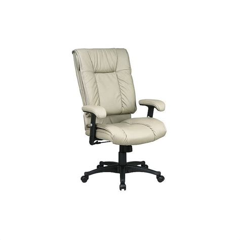 deluxe high back executive leather office chair ex9382