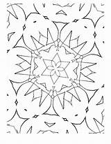 Coloring Fabric Woven Crafts Template sketch template