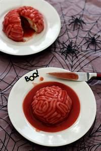 Recette Salée Halloween : cervelle ensanglant e un dessert bluffant pour halloween amandine cooking ~ Voncanada.com Idées de Décoration