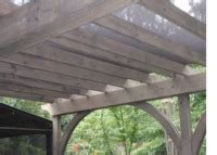 pti custom pergola deck trellis shade screen covers