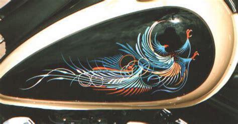 Steve Kafka pinstrip phoenix   Hot rods/Paint   Pinterest ...