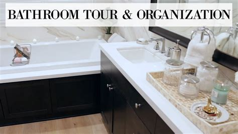 Bathroom Tour & Organization! Home Tour Series Blair