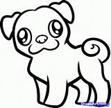 Pug Coloring Palomino sketch template