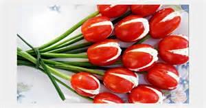 cuisine gourmande les tulipes tomates cerises au fromage pour l 39 apéritif