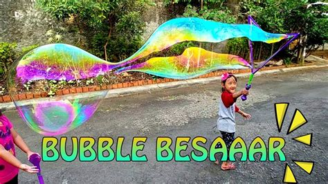 mainan gelembung balon raksasa unbelieva