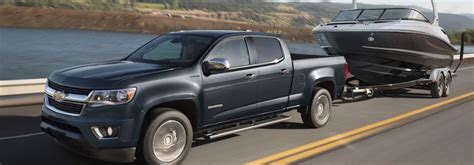 How Much Can The 2018 Chevrolet Colorado Tow? Harbin