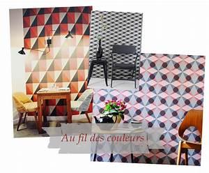 Au Fil Des Couleurs Papier Peint : du module au motif blog au fil des couleurs papiers ~ Melissatoandfro.com Idées de Décoration