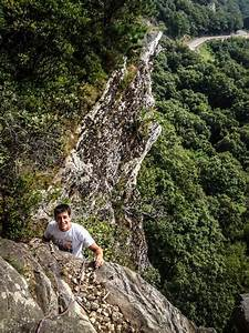 Rock Climbing Photo: Anthony topping out on Gelsa. Photo ...