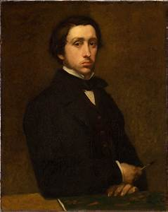 Edgar Degas - self portrait- mid and late 1800s to early ...