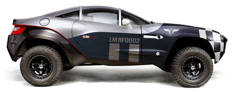 off road sports car one for the road and the off road the blue fish