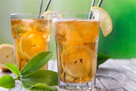 iced tea ideas offer   twist  summer