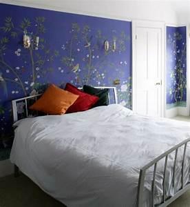 Schlafzimmer Tapeten 2017 : tapete schlafzimmer blau ~ Sanjose-hotels-ca.com Haus und Dekorationen