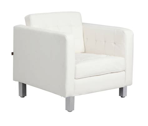 white modern accent chairs   living room