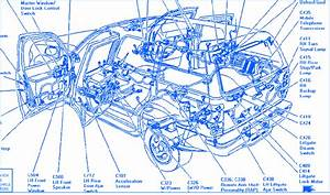Ford Telstar 1996 Starter Electrical Circuit Wiring