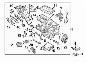 Ford Fiesta Hvac Unit Case Assembly  2011
