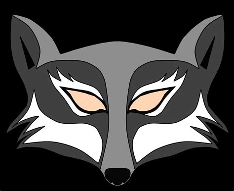 wolf mask template bombadee s garden wolf pack